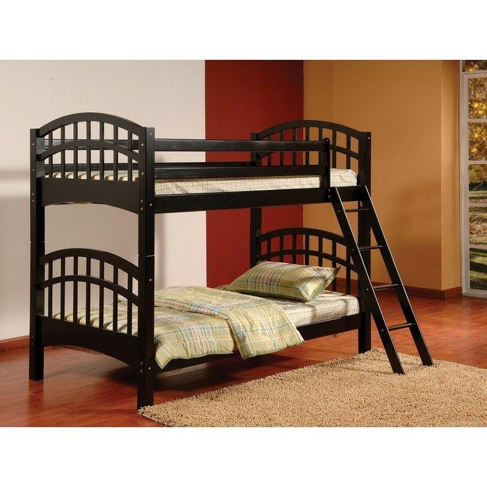 Wafair Flynn Twin Bunk Beds Bunk Beds Wood Bunk Beds