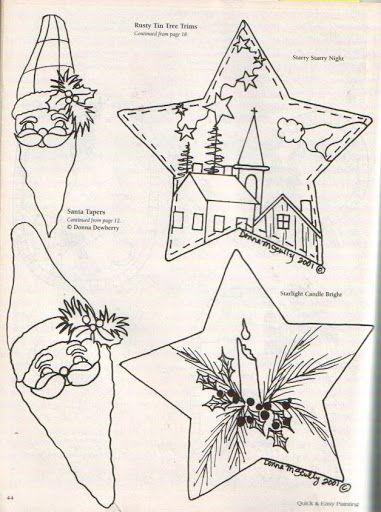 Painting Christmas ornaments winter 2002 1-2 - Geraldinapintura - Álbumes web de Picasa