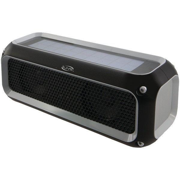 Ilive Isbw405b Rugged Sport Bluetooth R Speaker Water Resistant