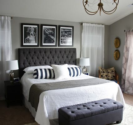 Behr Dolphin Fin And Sherwin Home Decor Gray Bedroom