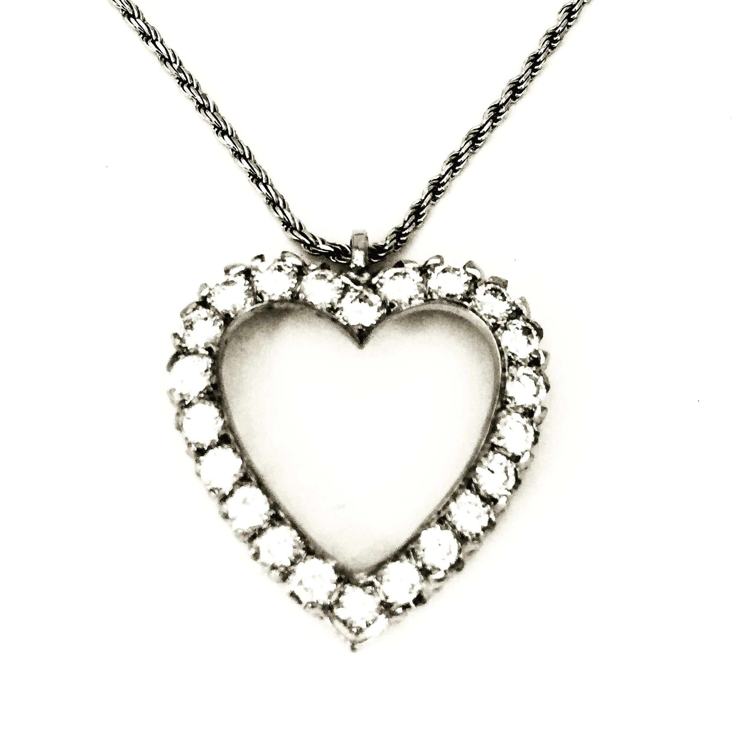 tiffany enlarged open pendant and heart jewelry necklace necklaces co products