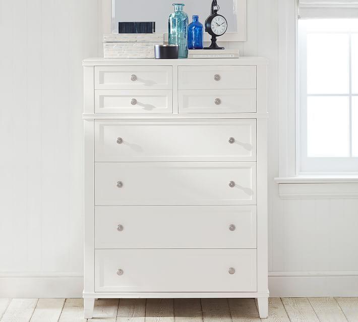 Clara 6 Drawer Tall Dresser With Images Tall Dresser Tallboy