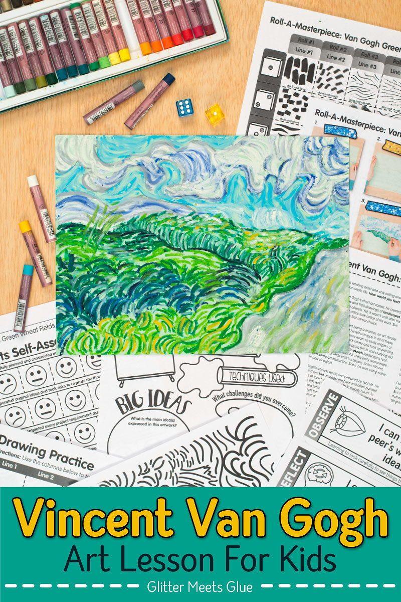 Photo of Glitter Meets Glue | Art Lesson Plans & Teacher Resources