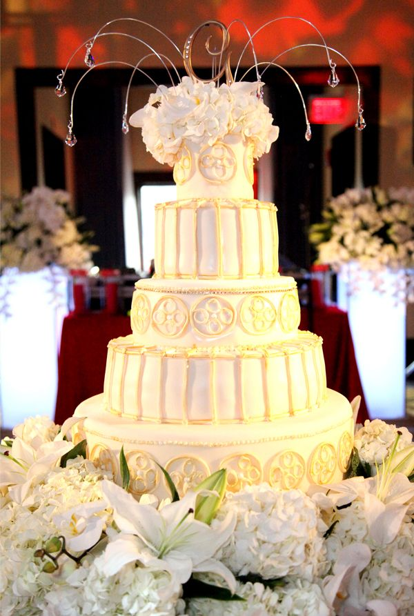 ove the top of this cake...whimsical... by Jenny\'s Wedding Cakes ...