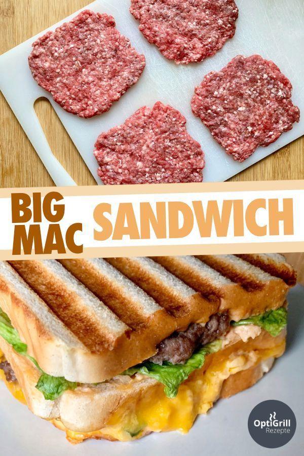 Big Mac Sandwich #sandwichrecipes