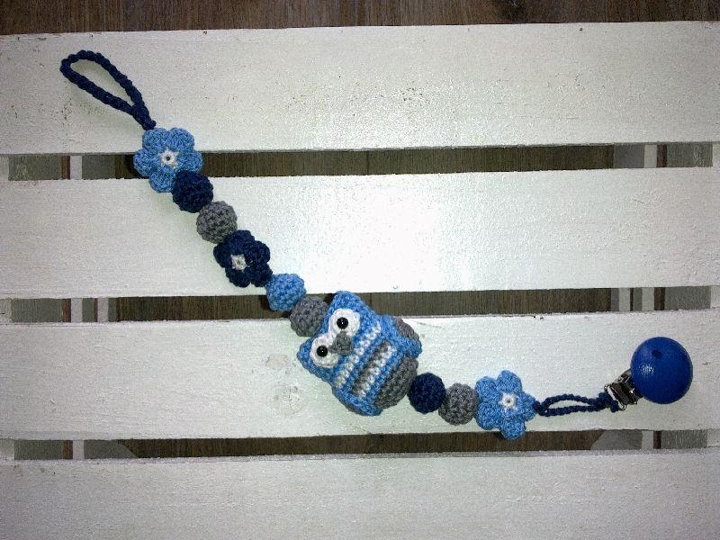 Gehaakte Speenkoord Uiltje Baby Goodies Pinterest Crochet