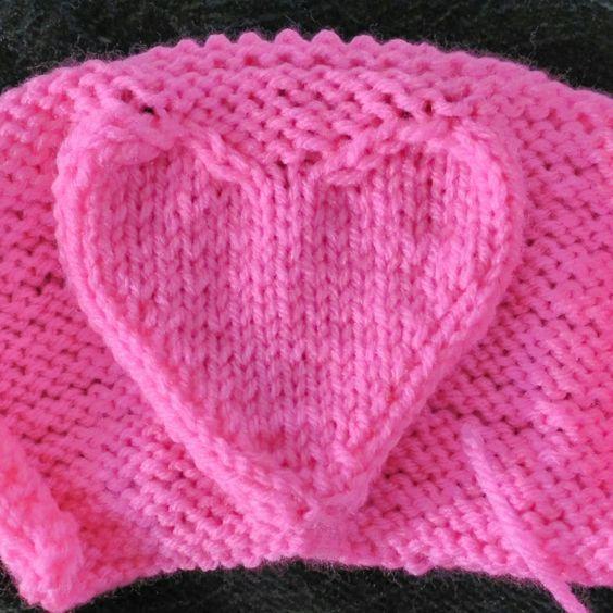 Heart Knitting Patterns Knitting Patterns Patterns And Christmas