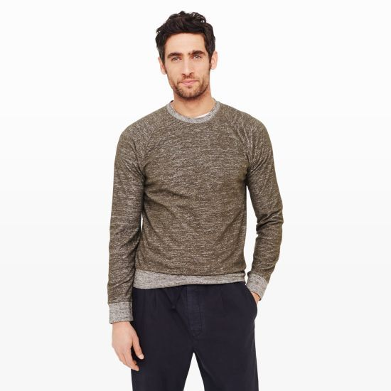Bouclé Crew - Activewear Men at Club Monaco