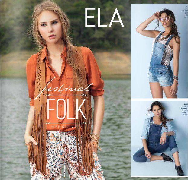 Catalogo Ela Septiembre Festival Folk Ropa Otono 2015 Ropa Moda Para Mujer Moda