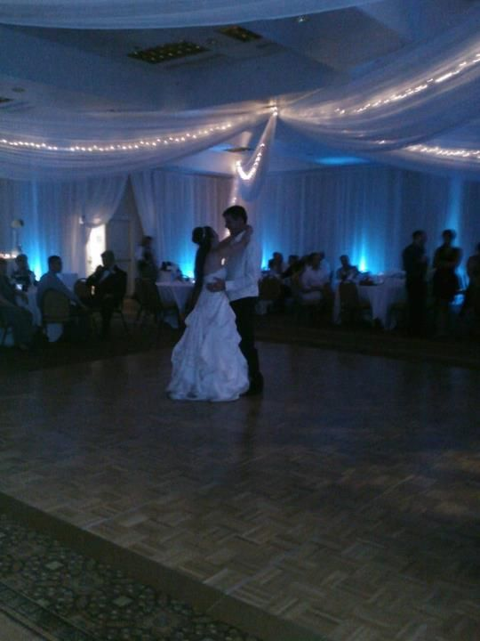 Dance your first dance of your wedding at the Park Plaza Bloomington.  They can make your night special.