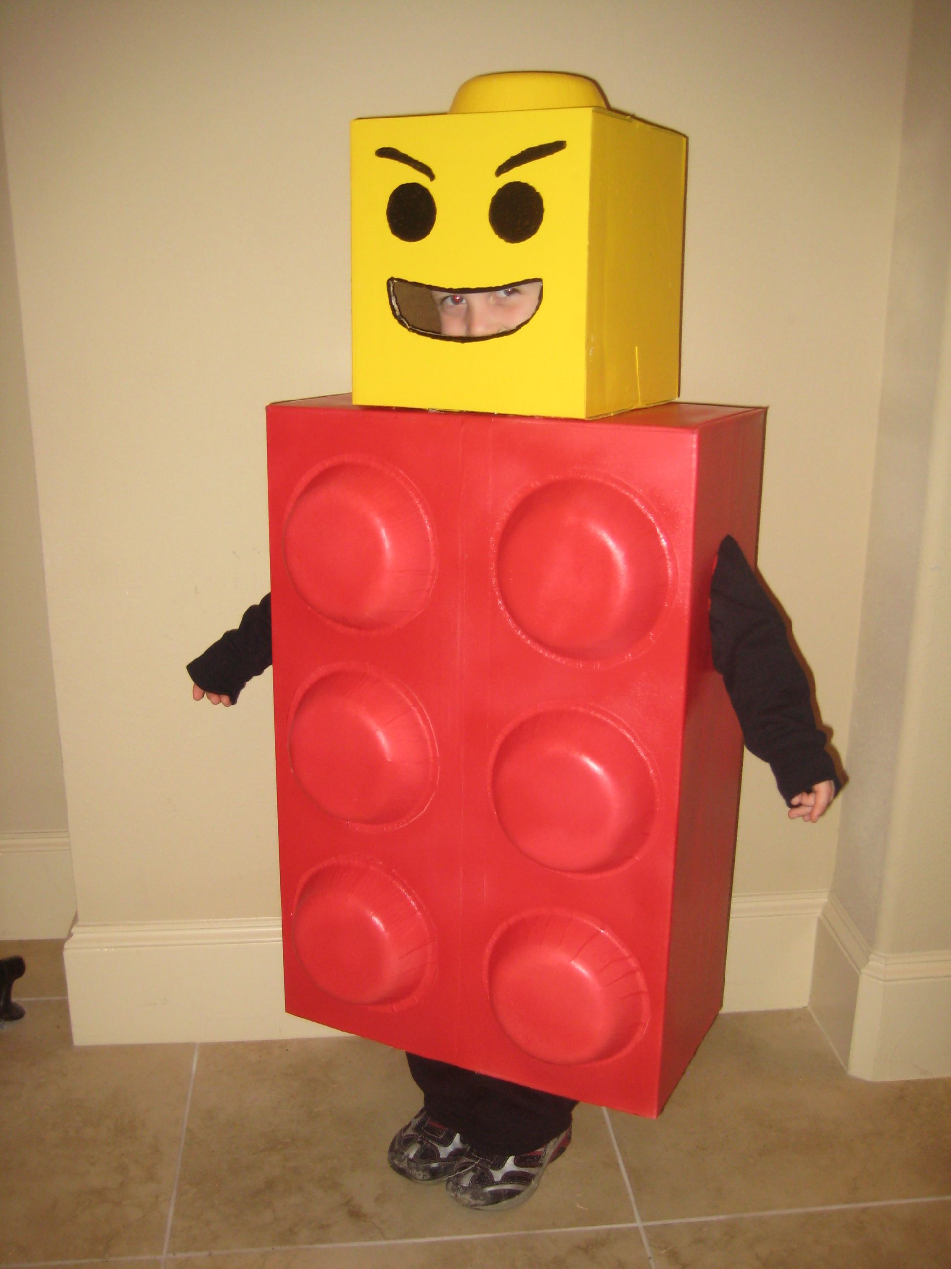 Homemade Lego costume! & Homemade Lego costume! | Halloween | Pinterest | Lego costume Lego ...