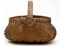 primitive country baskets...pretty...