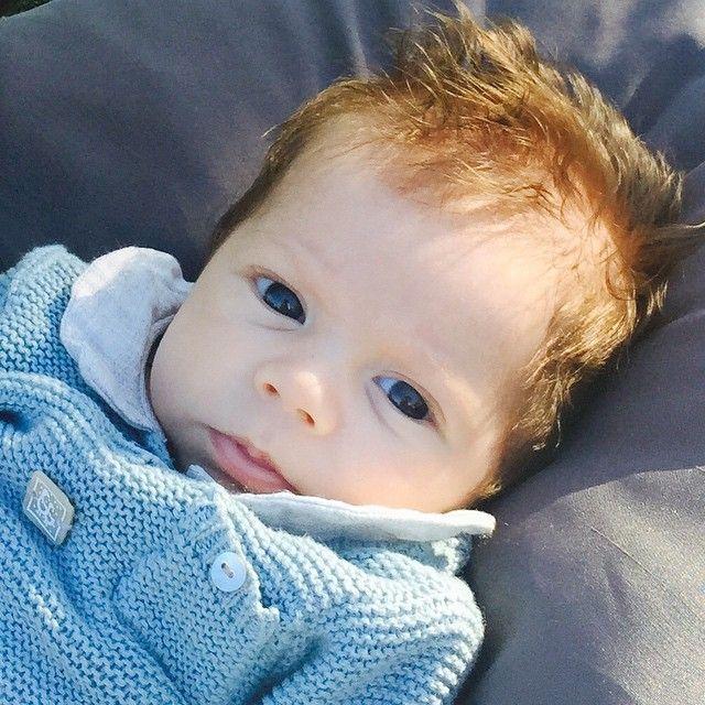 Las fotos más tiernas de los bebés de los famosos Sasha bebe de Shakira