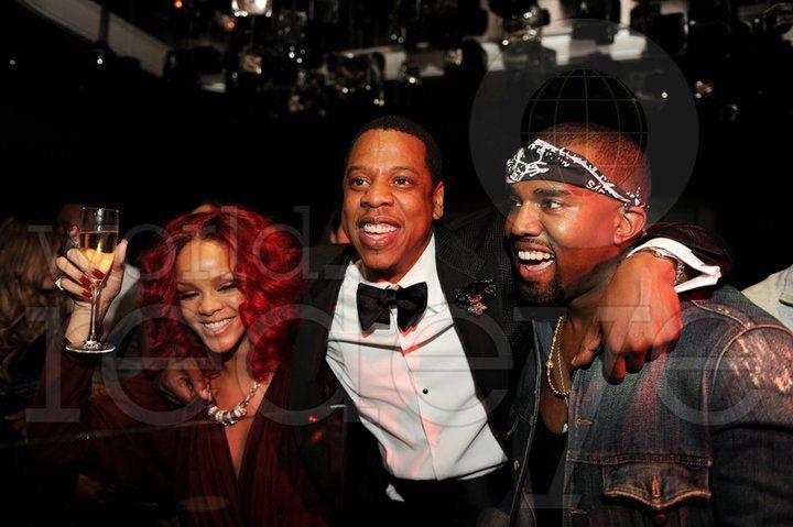 Illuminati Trio Celebrities Kanye West Jay Z Kanye West