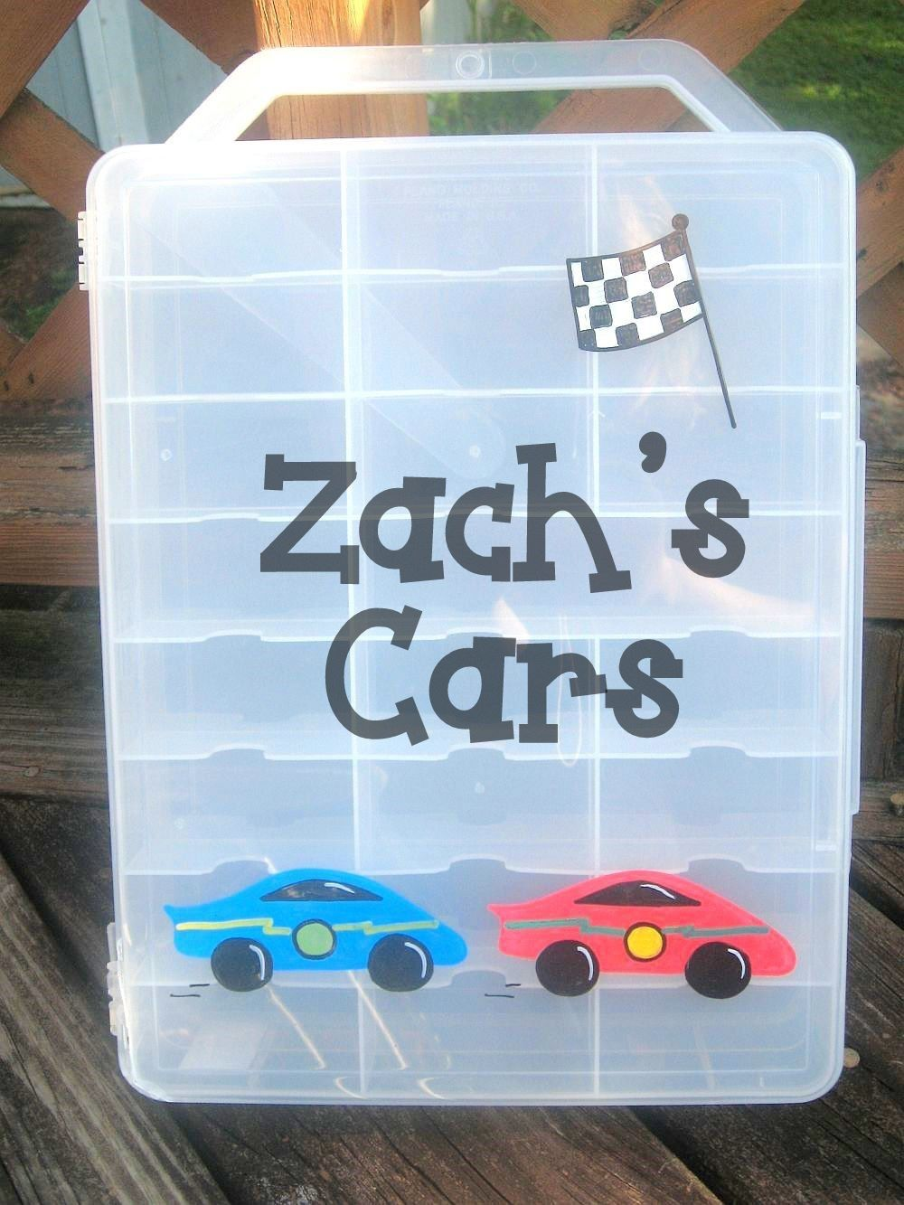 Car case,matchbox cars, race cars personalized by AChildsDelight on ...