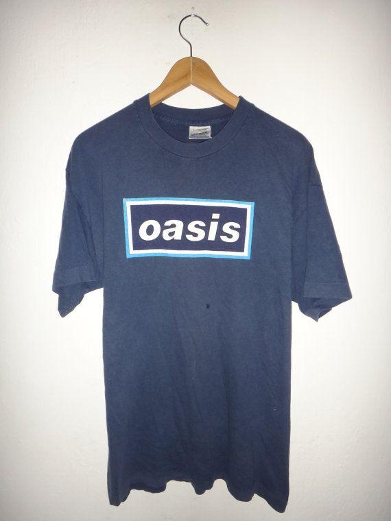b72925c9 Vintage 1996 Oasis Maine Road T Shirt Original 1990s Brit pop Rock Tee |  Vintage 1996 Oasis Maine Road T Shirt Original 1990s Brit pop Rock Tee |  Shirts, ...