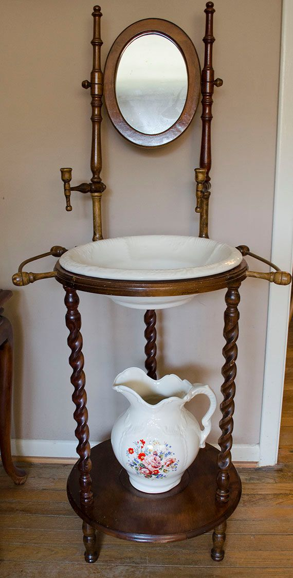 stunning antique white wash furniture | Beautiful vintage wash basin stand!! | Do You Love Antique ...