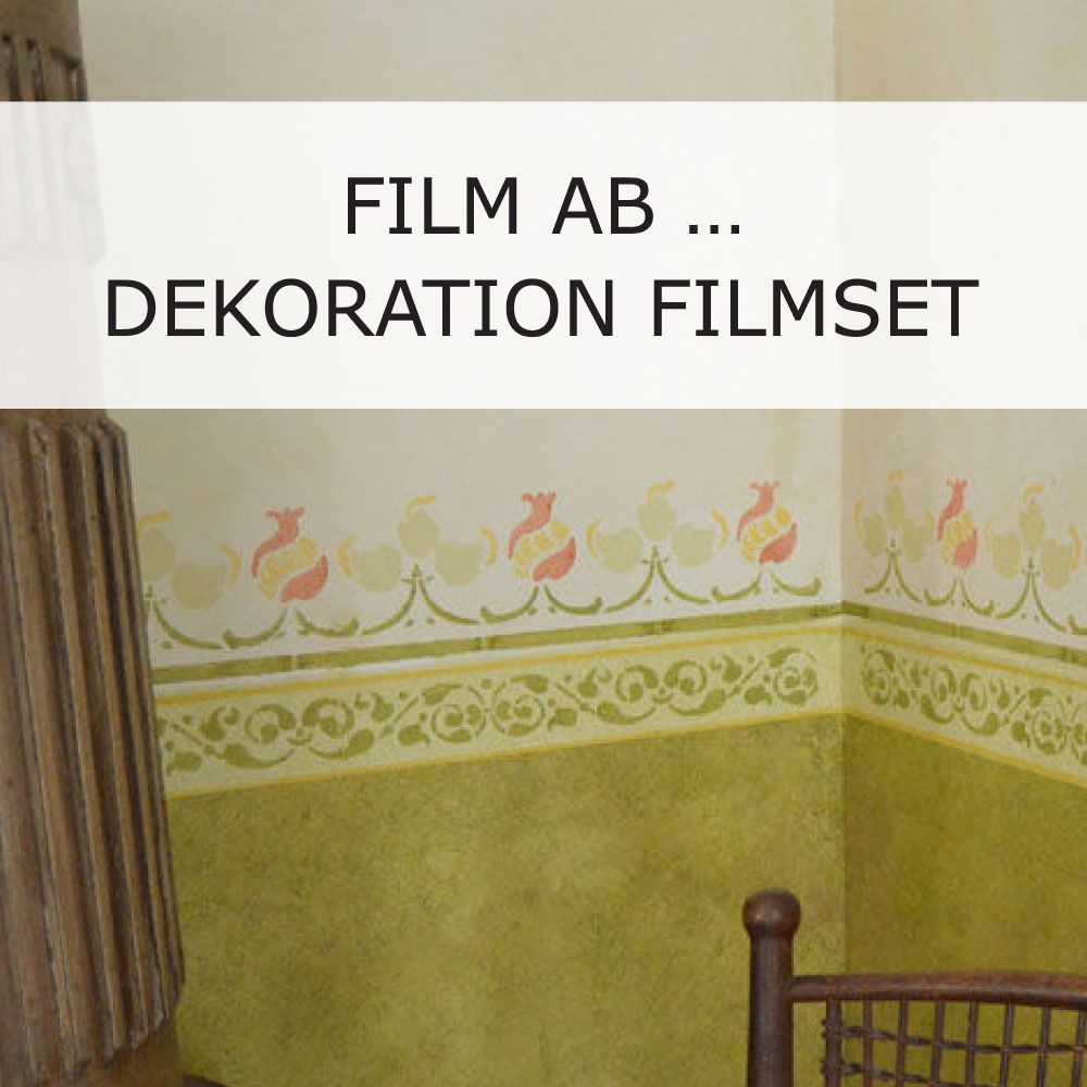 schablonen f r ein historisches filmset malerschablone wiederverwendbare tupfschablone. Black Bedroom Furniture Sets. Home Design Ideas