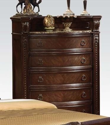 "Anondale Collection 10316 44"" Chest with 5 Drawers Marble"