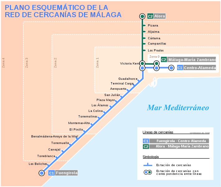 Benalmadena Train Timetable Banalmadena Spain Pinterest