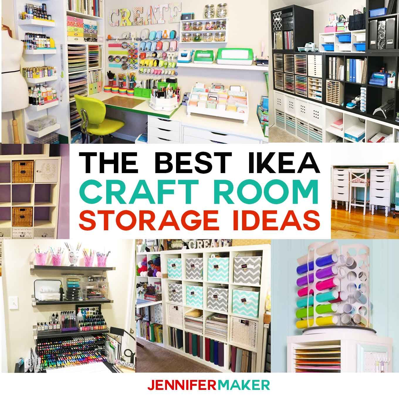 27 Excellent Image Of Ideas For Scrapbooking Room Ikea Craft