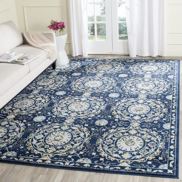 Safavieh Evoke Traci Distressed Vintage Boho Rug With Images Area Rugs Rugs Traditional Area Rugs