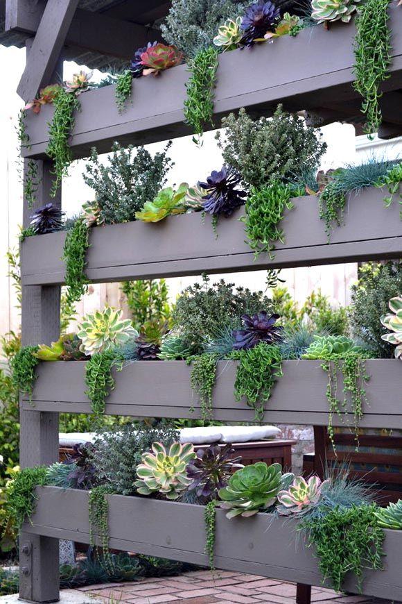 garten ideen blumen raumteiler | garten möbel für beete anpflanzen, Garten ideen
