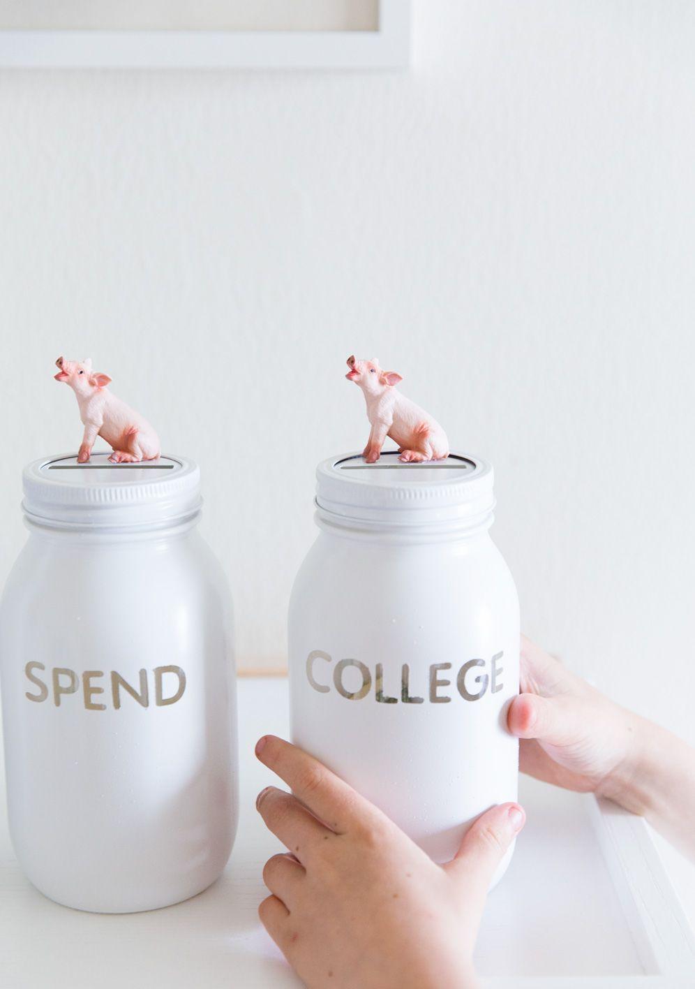 M s de 25 ideas incre bles sobre diy hucha de cerdo en for Piggy bank ideas diy