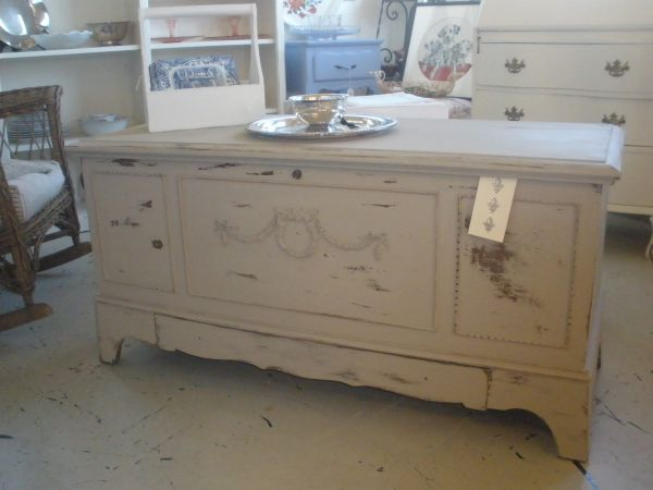 Vintage Shabby Chic Lane Hope Chest Refurbished Furniture