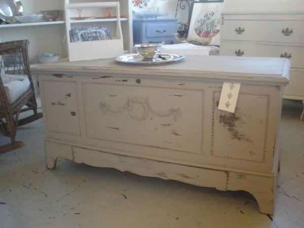 Vintage Shabby Chic Lane Hope Chest Refurbished Furniture