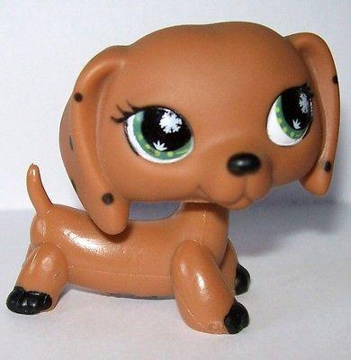 Littlest Pet Shop Lps European Monopoly Dachshund Weiner Dog Puppy