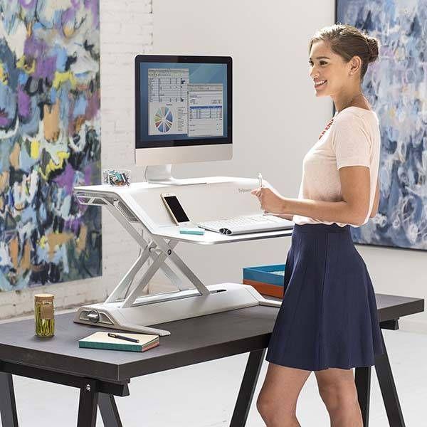 Lotus Adjustable Standing Desk Gadgetsin Best Standing Desk Standing Desk Converter Diy Standing Desk Plans