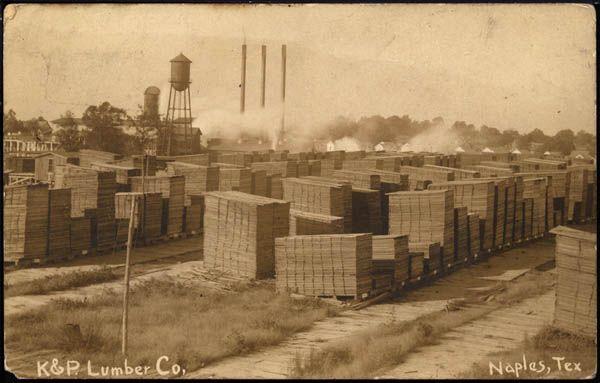 K L Lumber Co Ex Sullivan Sanford Lumber Company Mill Yard