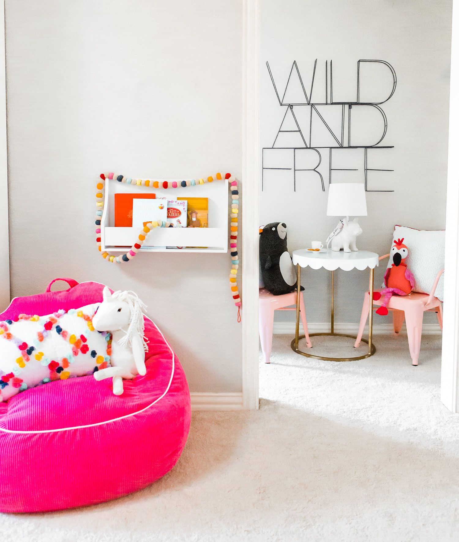6 Totally Fresh Decorating Ideas for the Kids\' Playroom | Pinturas