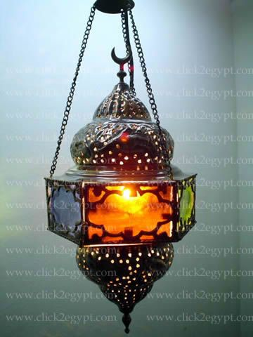 Egyptian Handmade Ic Hanging Lamp