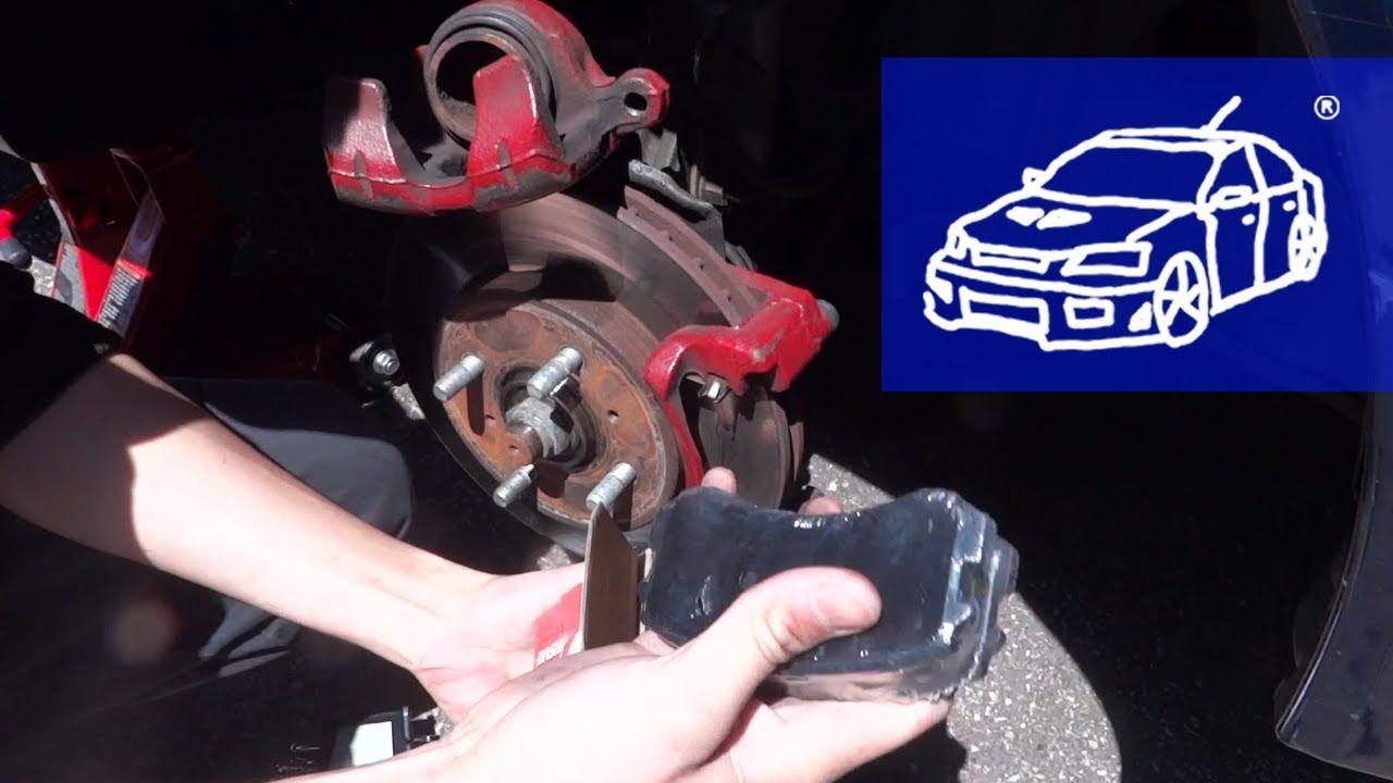how to change brake pads on a 2009 mitsubishi lancer