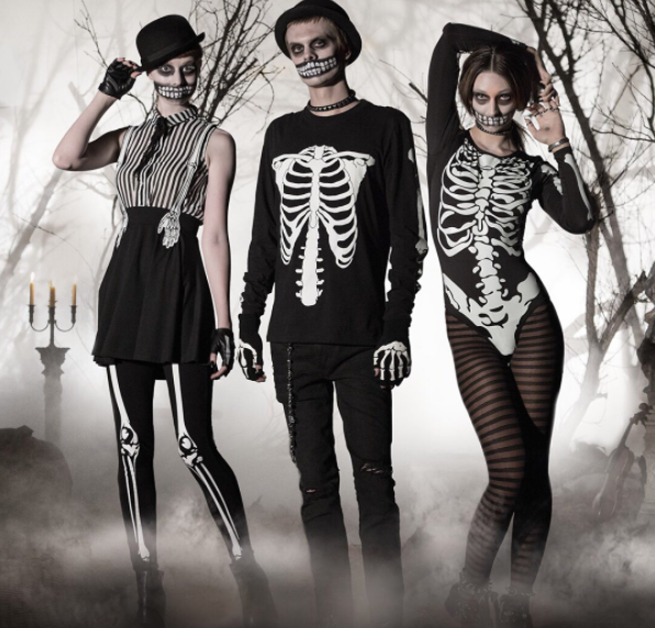 Halloween Lesidee.Costumes That Ll Make You Jump Outta Your Skin Halloween Skeleton Costumes Diy Girls Costumes Classic Halloween Costumes Skeleton Halloween Costume