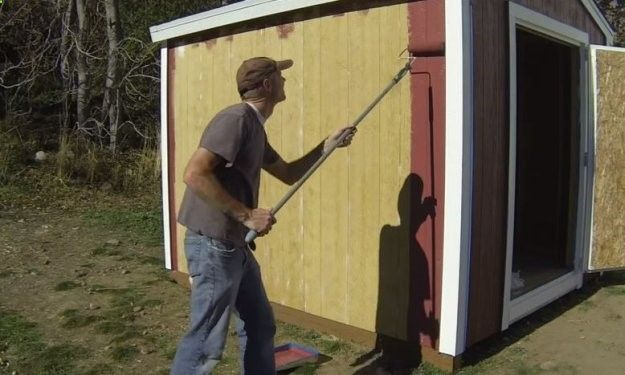 Paint Shed | Store and Save | Learn How to Build a Cheap Shed