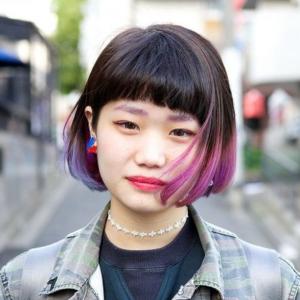 Pink And Purple Dip Dye Bob Short Ombre Hair Dip Dye Hair Colored Hair Tips