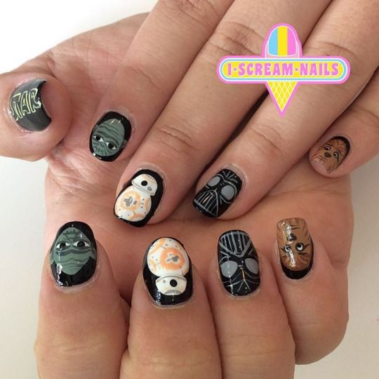I Scream Nails Melbourne Nail Art Nail Art Pinterest