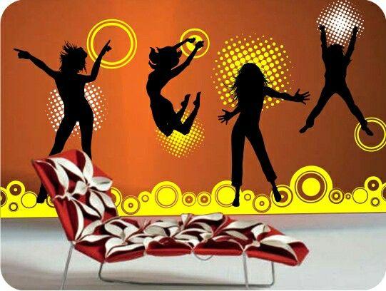 Siluetas baile