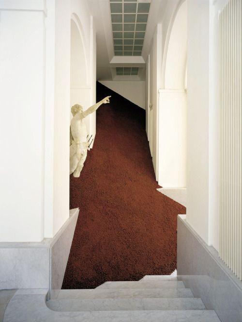 Magdalena Jetelová, Domestication of a Pyramid,... | Art Ruby