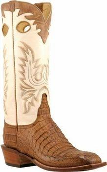 c3b48daf4d9 Mens Lucchese Classics Tan Burnished Hornback Caiman Crocodile ...