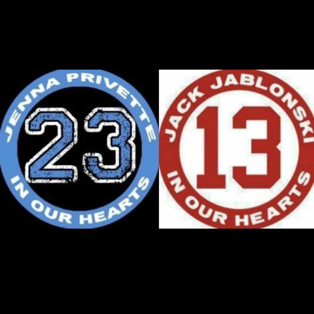 Another check from behind leaves another hockey player in the hospital.... Pray for Jack Jablonski and Jenna Privette! Stay strong and keep fighting!