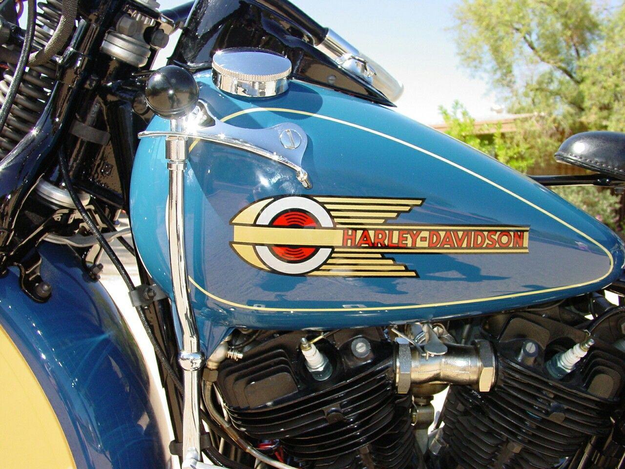Vintage Gas Tank Decals Bobber Harley Honda