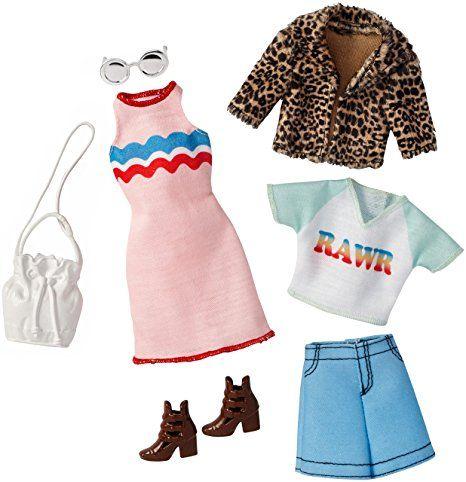 MATTEL SILVER METALLIC TOP SHIRT BARBIE FASHIONISTAS FASHION CLOTHES