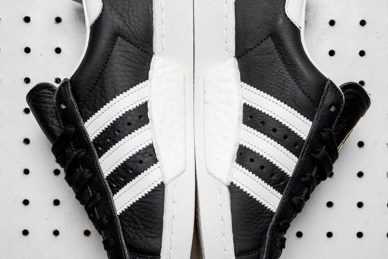 adidas superstar blanco y negro