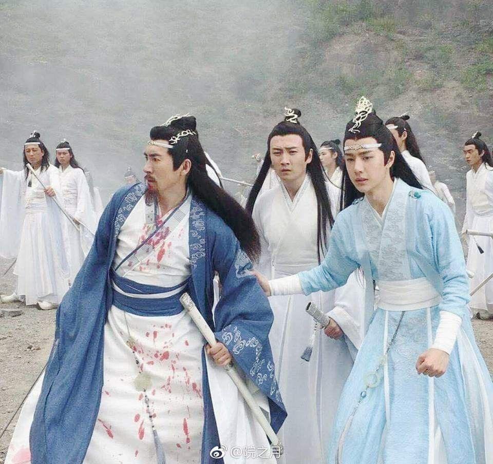 ปักพินในบอร์ด The Untamed Mo Dao Zu Shi Série