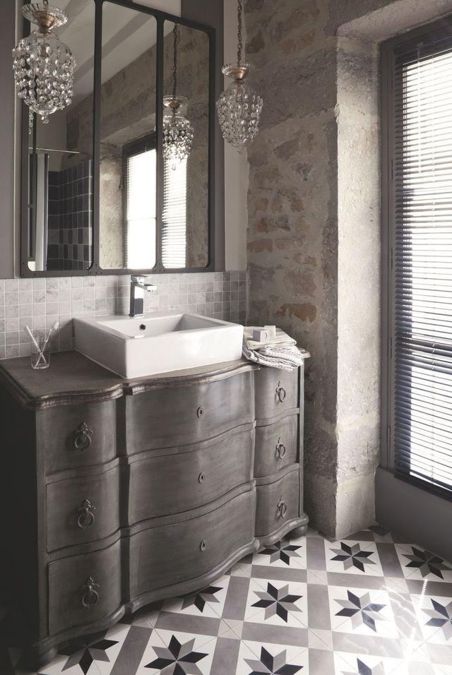 Salle de bains déco  zen, bois, nature Apartments