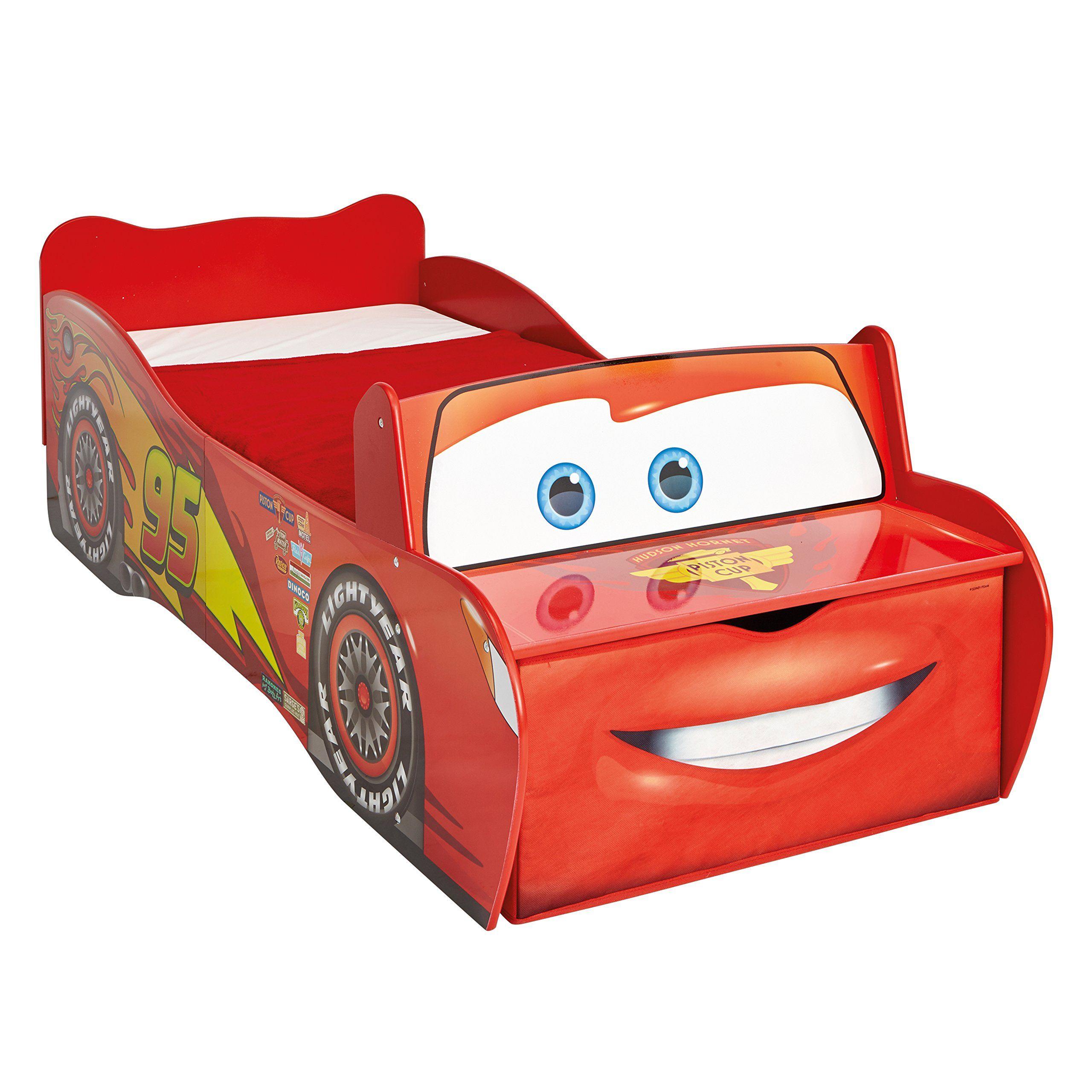 Shop Lightning mcqueen toddler bed, Disney cars toddler